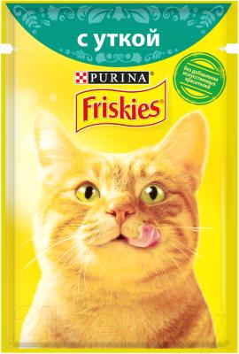 Корм для кошек, 24 шт. Friskies Утка в подливе