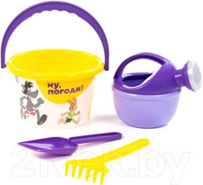 Набор игрушек для песочницы Полесье Ну, погоди! №3 / 83234