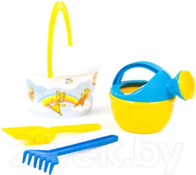 Набор игрушек для песочницы Полесье Оранжевая корова №4 / 83180