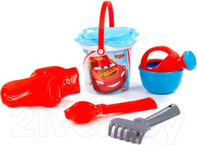 Фото - Набор игрушек для песочницы Полесье Disney Pixar Тачки №4 / 66381 пазл шар тачки disney 60 деталей