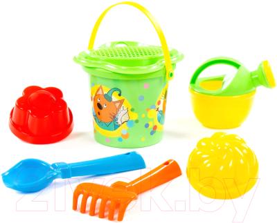 Набор игрушек для песочницы Полесье Три кота №2 / 62321 набор полесье три кота буквы на магнитах 66 шт 69924