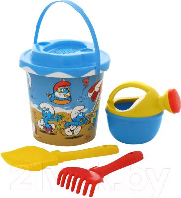 Набор игрушек для песочницы Полесье Смурфики-2 №2 / 65162