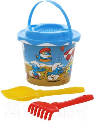Набор игрушек для песочницы Полесье Смурфики-2 №1 / 65155