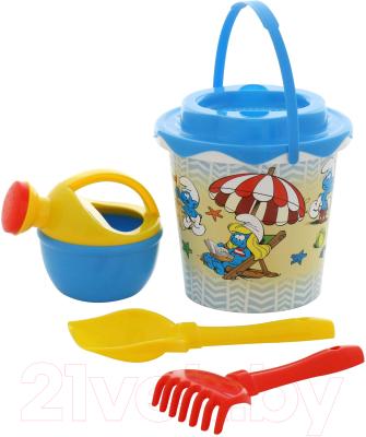 Набор игрушек для песочницы Полесье Смурфики-1 №2 / 65124