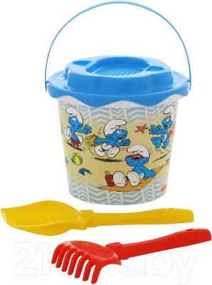 Набор игрушек для песочницы Полесье Смурфики-1 №1 / 65117