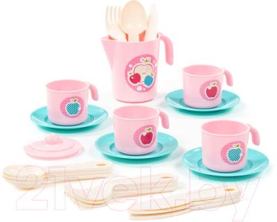 Набор игрушечной посуды Полесье Анюта / 80073