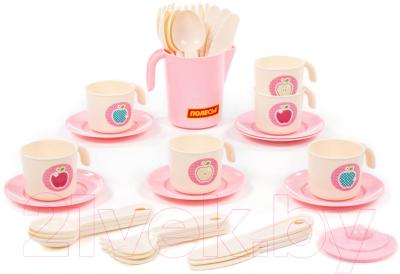 Набор игрушечной посуды Полесье Анюта / 80097