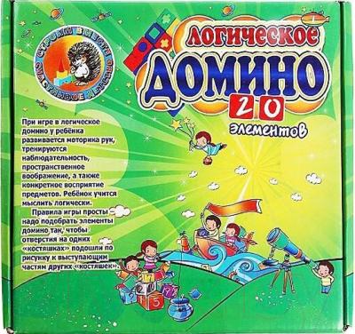 Развивающая игра Строим счастливое детство Домино / 780975
