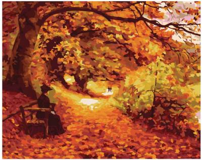 Картина по номерам PaintBoy Осенний парк / G116