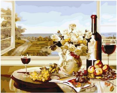 Картина по номерам PaintBoy Романтика у окна / G297