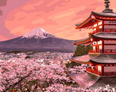 Картина по номерам PaintBoy Традиционная Япония / G603