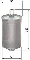 Топливный фильтр Bosch 0986450124 -