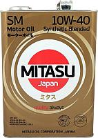 Моторное масло Mitasu 10W40 / MJ-122-4 (4л) -