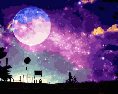 Картина по номерам PaintBoy Звездное небо / GT66002