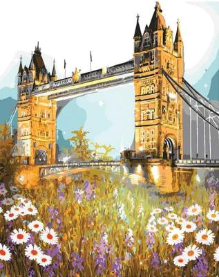 Картина по номерам PaintBoy Тауэрский мост в цветах / GX3286