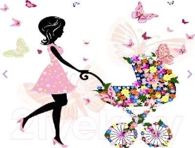 Картина по номерам PaintBoy Мама с коляской / GX3505