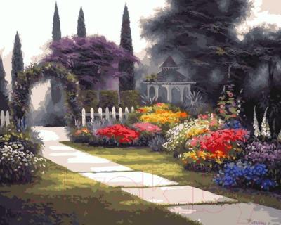Картина по номерам PaintBoy Цветочный парк / GX5213