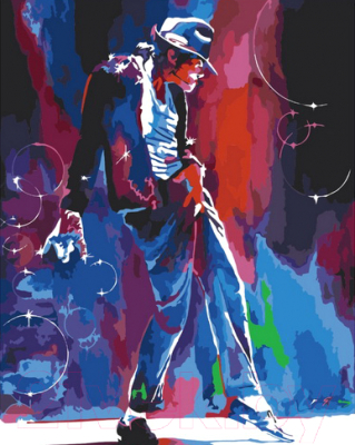 Картина по номерам PaintBoy Майкл Джексон / GX6907