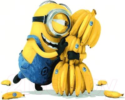 Картина по номерам PaintBoy Миньон с бананами / GX21626