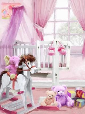 Картина по номерам PaintBoy Детская комната / GX25497