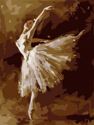 Картина по номерам PaintBoy Изящная балерина / CX3877