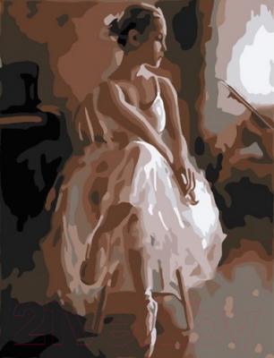 Картина по номерам PaintBoy Юная балерина / CX3920