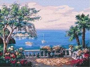 Картина по номерам PaintBoy Берег Испании / EX5220