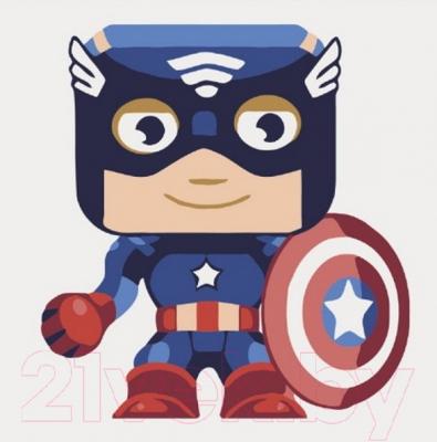Картина по номерам PaintBoy Капитан Америка / B074