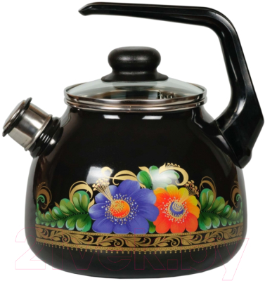 Чайник со свистком СтальЭмаль Вологда 4с209я