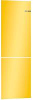 Холодильник с морозильником Bosch Serie 4 VitaFresh KGN39IJ22R (солнечно-желтый) -
