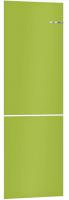 Холодильник с морозильником Bosch Serie 4 VitaFresh KGN39IJ22R (лайм) -