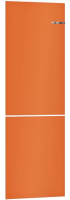 Холодильник с морозильником Bosch Serie 4 VitaFresh KGN39IJ22R (оранжевый) -