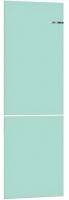 Холодильник с морозильником Bosch Serie 4 VitaFresh KGN39IJ22R (небесно-голубой) -