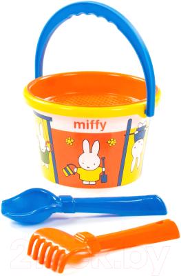 Набор игрушек для песочницы Полесье Миффи-4 №1 / 64752