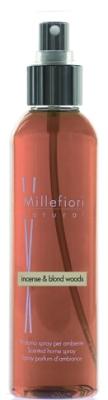 Жидкость для аромадиффузора Millefiori Milano Natural благовония и белое дерево / 7SRIW