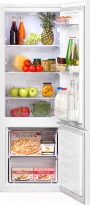 Холодильник с морозильником Beko RCSK250M20W