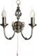 Бра Arte Lamp Zanzibar A8392AP-2AB -