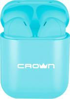 Беспроводные наушники Crown CMTWS-5005 (голубой) -