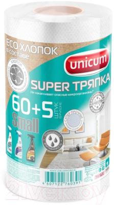 Салфетка хозяйственная Unicum Super тряпка Small в рулоне