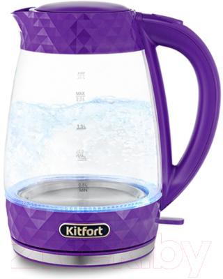 Электрочайник Kitfort KT-6123-1