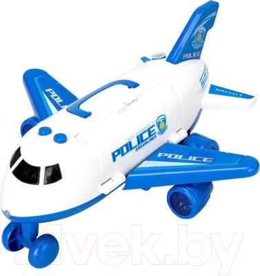 Самолет игрушечный Autogrand Самолет-парковка. Полиция / 81056