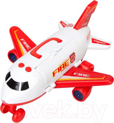 Самолет игрушечный Autogrand Самолет-парковка. Пожарный / 81057