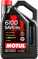 Моторное масло Motul 6100 Save-lite 5W20 / 108030 (4л) -