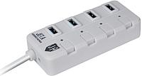 USB-хаб Jet.A JA-UH35 (белый) -
