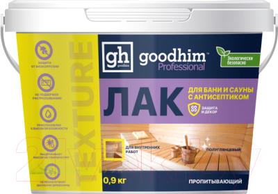 Лак GoodHim Texture 500 пропитывающий для бани и сауны