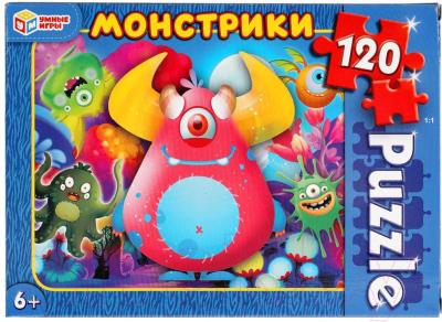 Пазл Умные игры Монстрики / 4680107915283