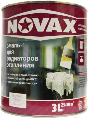 Эмаль Novax Алкидная для радиаторов отопления