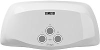 Электрический проточный водонагреватель Zanussi 3-logic 5.5 S (с душем) -