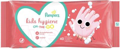 Влажные салфетки Pampers Kids Hygiene