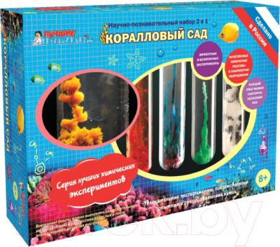 Набор для опытов Лучшие эксперименты Коралловый сад / NT-X016